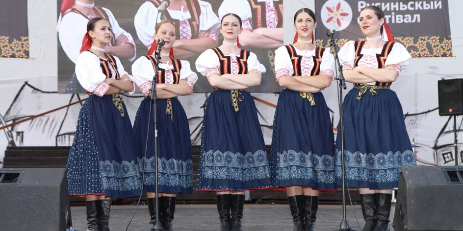 FS Šarišan na Rusínskom festivale 2014 (autor fotografie: Igor Fek)